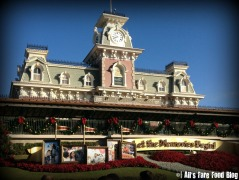 The Railroad Station at Magic Kingdom