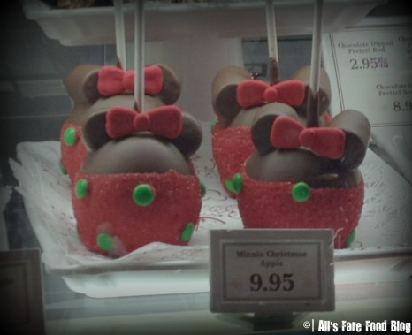 Minnie Caramel Apples at Magic Kingdom