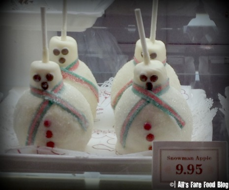 Caramel Apple Snowmen at Magic Kingdom