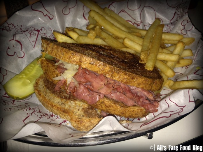 The Reuben at Sci-Fi Dine-in Theater