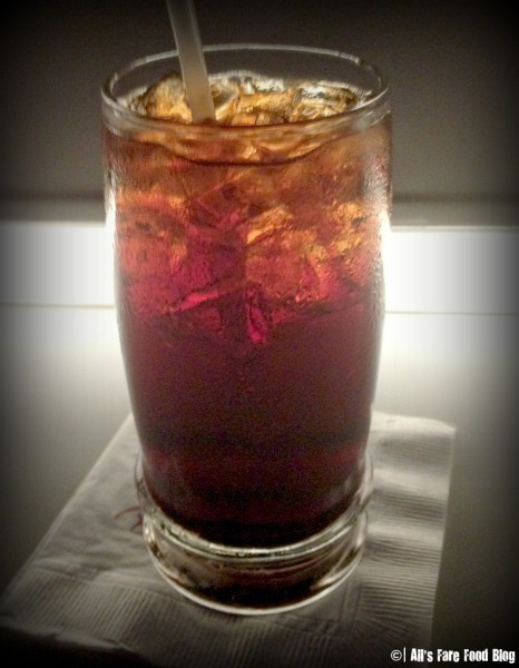 Cherry cola at Sci-Fi Dine-In Theater