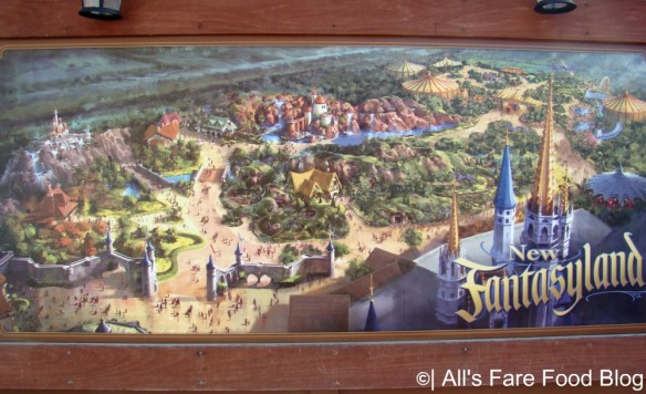 The New Fantasyland opening later in 2012