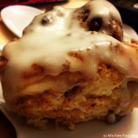 Quick cinnamon rolls with buttermilk icing
