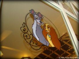 Lady and the Tramp at Tony's Town Square