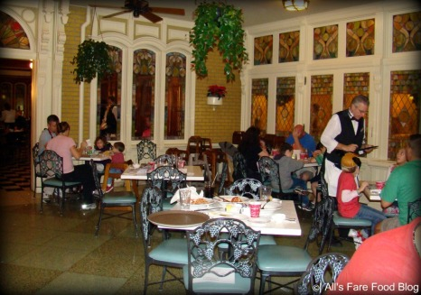 Sunroom dining area at Tony's Town Square