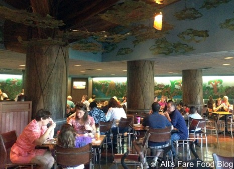 Mara Seating area at Disney's Animal Kingdom Lodge