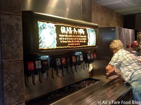 Mug sink and beverage choices