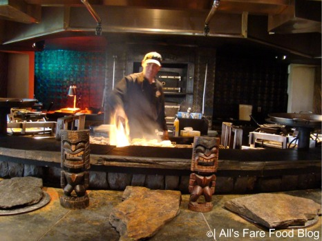 Open-cooking at Disney's 'Ohana