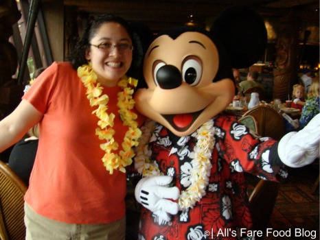 Me and Mickey at Disney's 'Ohana