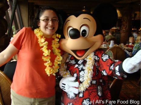 Me and Mickey at Disney's 'Ohana
