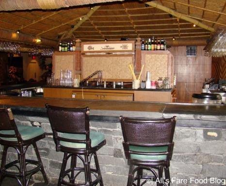 Bar area at 'Ohana