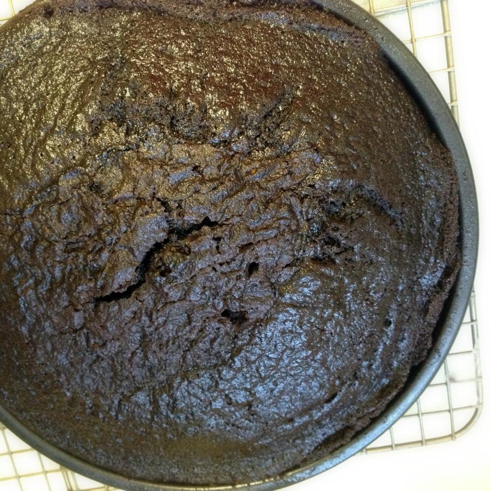 Recipe: Hershey's Especially Dark Chocolate Layer Cake (1/2)