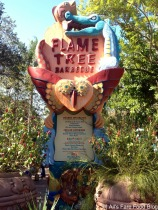 Sign at Flame Tree Barbecue