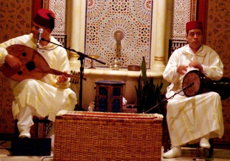 Musicians at Restaurant Marrakesh
