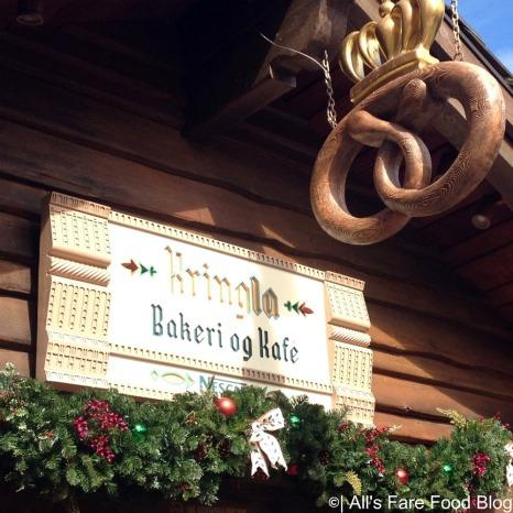 Kringla Bakeri sign at Epcot's Norway Pavilion