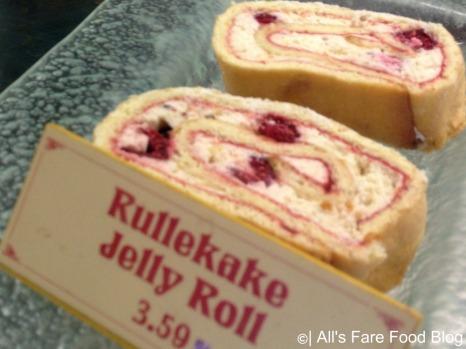 Jelly roll at Kringla Bakeri og Cafe at Epcot