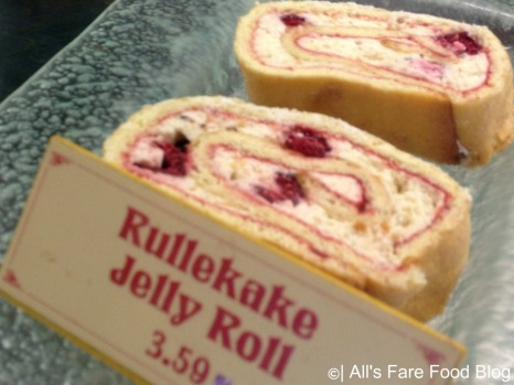 Jelly roll at Kringla Bakeri og Cafe at Epcot