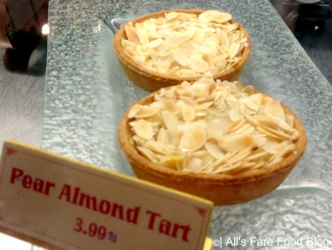 Pear almond tart at Kringla Bakeri og Cafe at Epcot