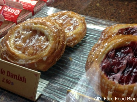 Various danish at the Kringla Bakeri og Cafe at Epcot