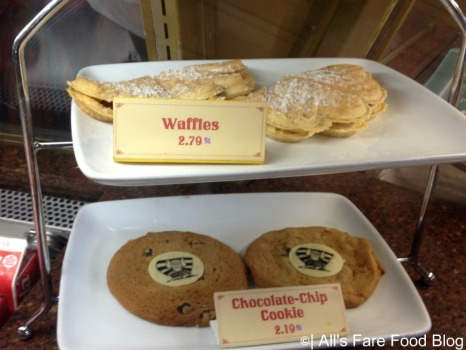 Cookies and waffles at Kringla Bakeri og Cafe at Epcot