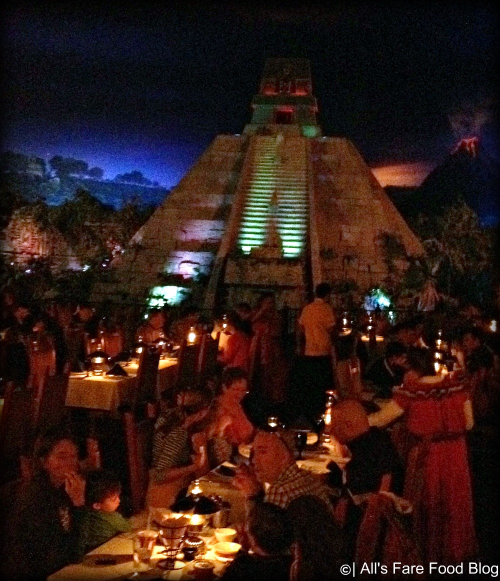 Inside San Angel Inn at Epcot's World Showcase
