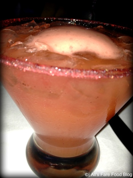 Blood orange margarita at Epcot's San Angel Inn