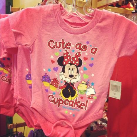 Cute as a cupcake onesie