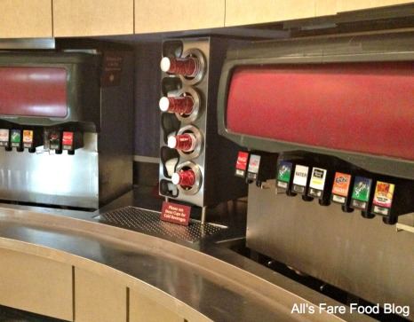 Soda stations at Sunshine Seasons, Epcot