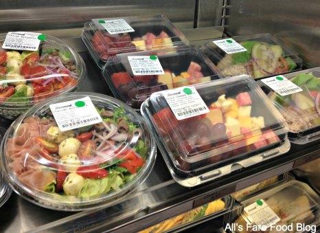 Cheese, fruit and salads at Sunshine Seasons, Epcot, the Land
