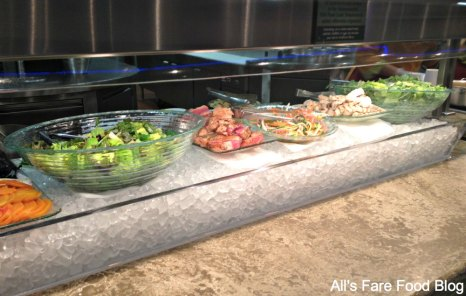 Fresh salads at Sunshine Seasons, the Land