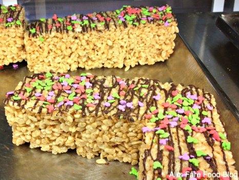 Rice krispie treats at Sunshine Seasons, Epcot