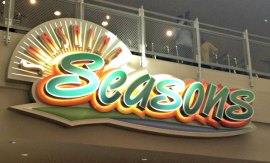Sunshine Seasons logo at Epcot
