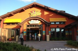 Exterior of Pollo Campero at Downtown Disney in Florida