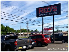 Red's Kitchen and Tavern exterior sign