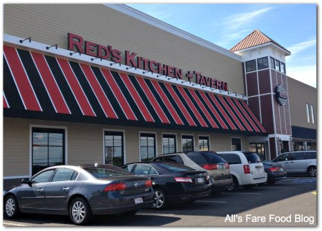 Red's Kitchen and Tavern outside view of building