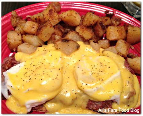 Eggs Benedict at Red's Kitchen and Tavern