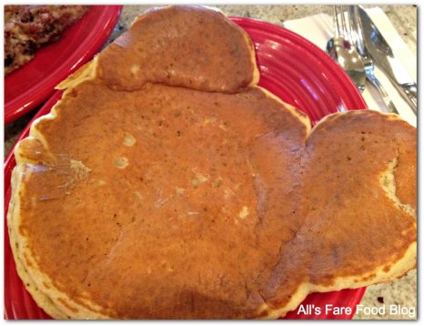 Mickey pancake at Red's Kitchen and Tavern