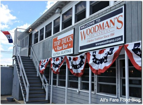 Woodman's exterior upper area