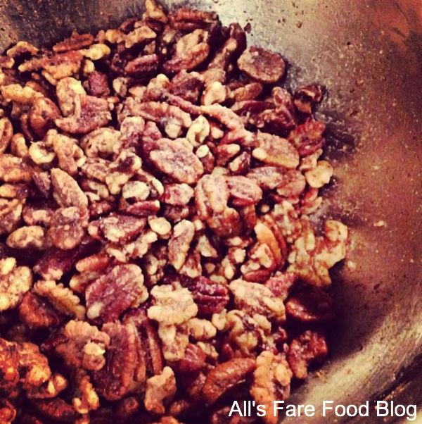 Crockpot Roasted Sugared Nuts