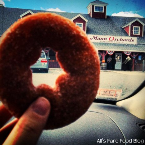 Apple Cider Donut from Mann Orchards
