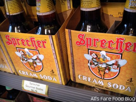 Milwaukee's own Sprecher soda available at Sweet Clove