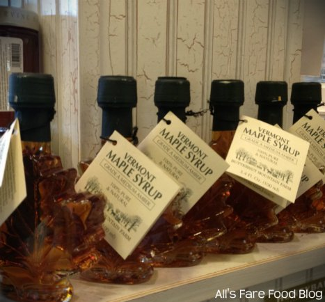 Maple syrup available to purchase at Sweet Clove