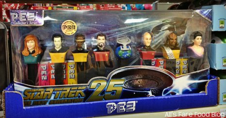 Star Trek The Next Generation Pez Dispenser